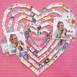Heart Strips Layout