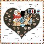 Kitty Love Layout