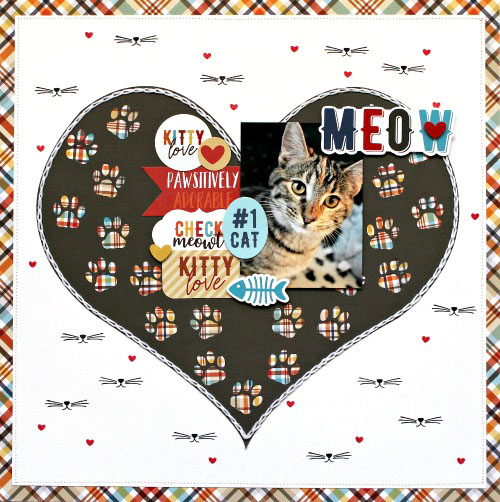 Kitty Love Layout