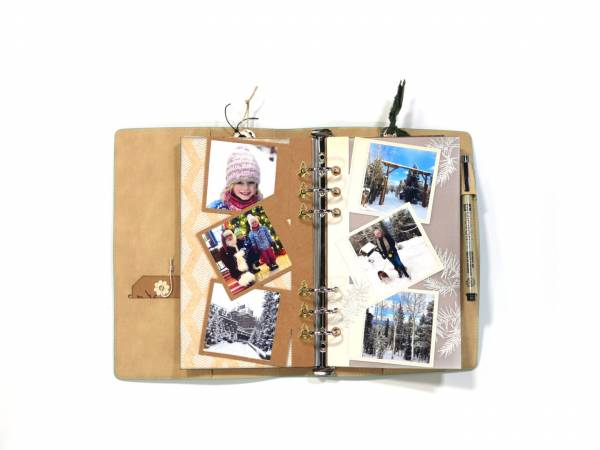 Winter Photo Frame Layouts