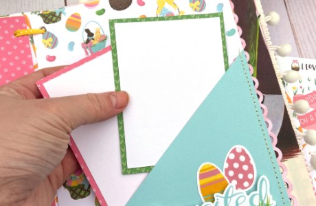 Altered Book Easter Album