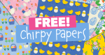 Free Spring & Easter Pattern Papers