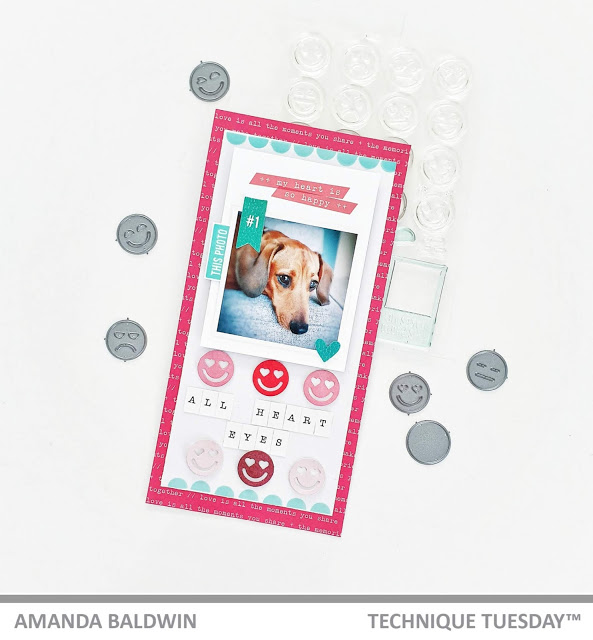 Emoji Dog Layout