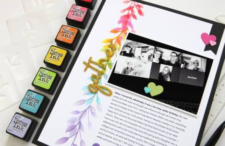 Hybrid Scrapbooking for Beginners