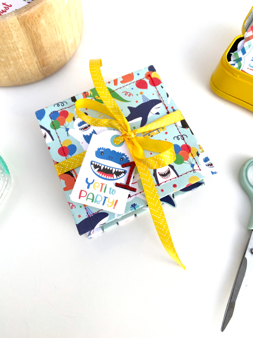 Caterpillar Style Birthday Mini Album