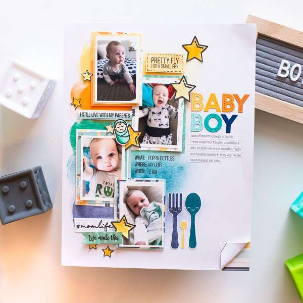 Baby Boy Layout