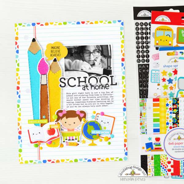 School at Home Layout
