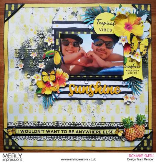 Tropical Sunshine Layout