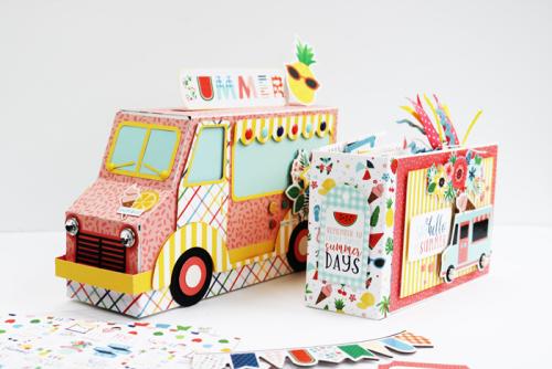 Ice Cream Truck Box and Album
