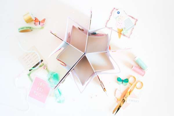Pop Up Mini Star Album
