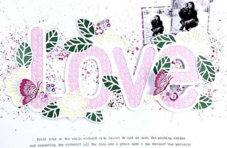 Large Love Layout