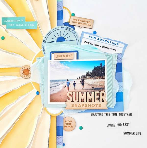 Summer Sunray Layout