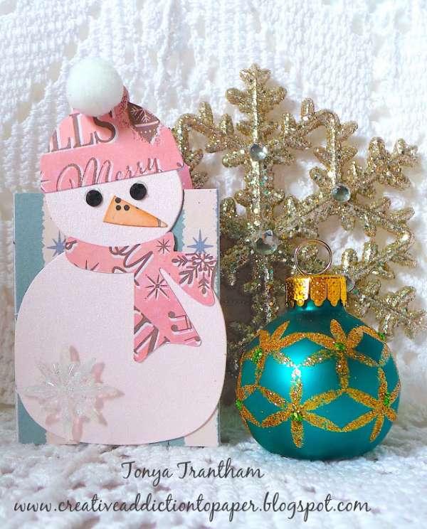 Snowman Mini Album