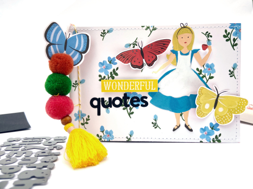 Alice in Wonderland Quote Journal