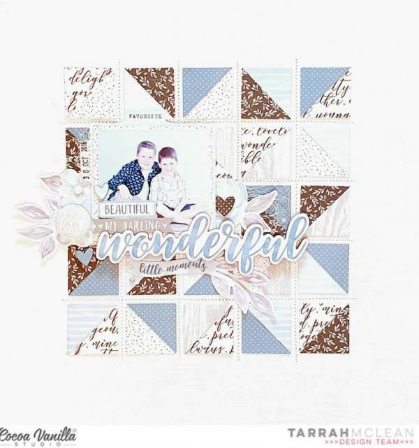 Quilt Inspired Layout
