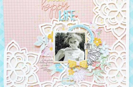 Sweet Happy Life Layout