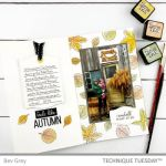 Autumn Leaves Traveler's Notebook Pages