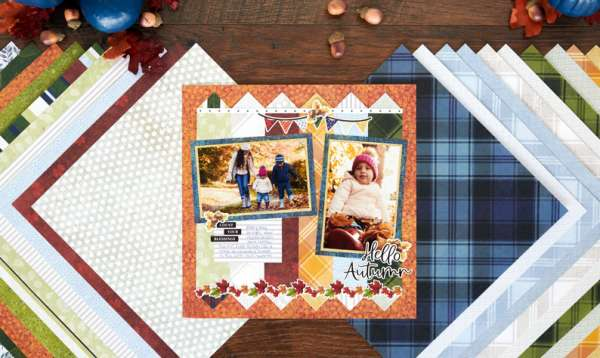 Autumn Quilt Style Layout