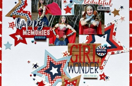 Girl Wonder Layout