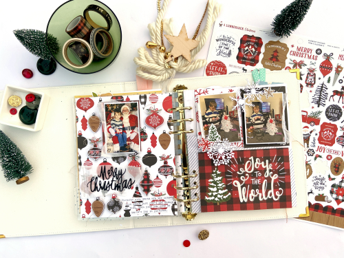 Smaller Christmas Layouts