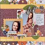 Cozy Fall Days Layout