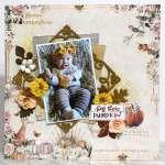 Autumn Baby Layout