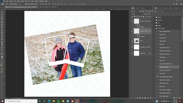 Digital Tip for Frames