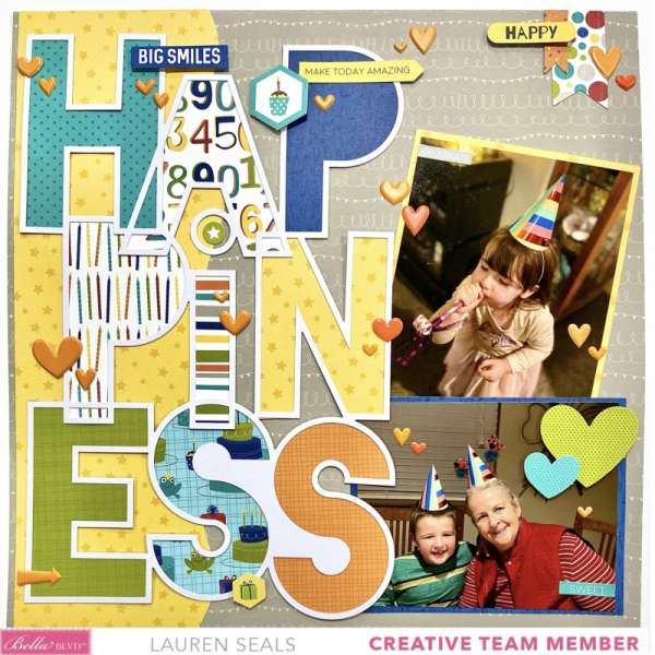 Happiness Birthday Page
