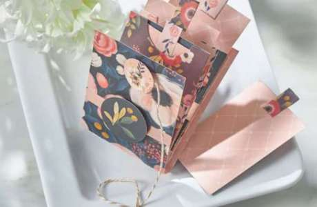 Spring Envelope Mini Album