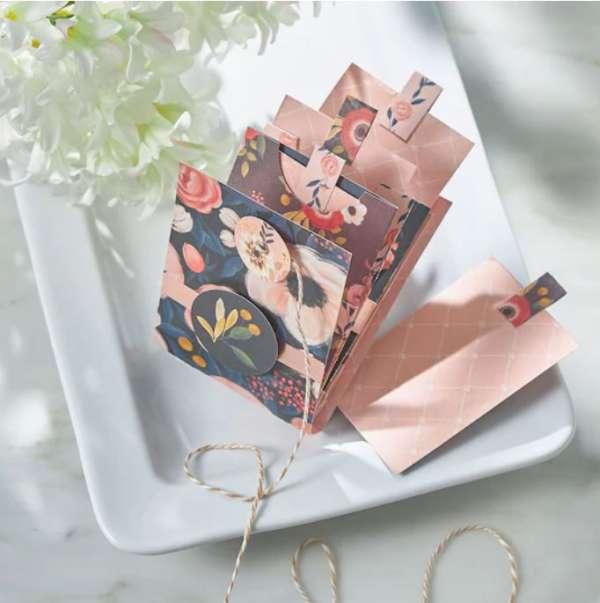 Spring Envelope Mini Album