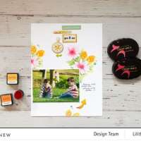 Flower Stencils Layout