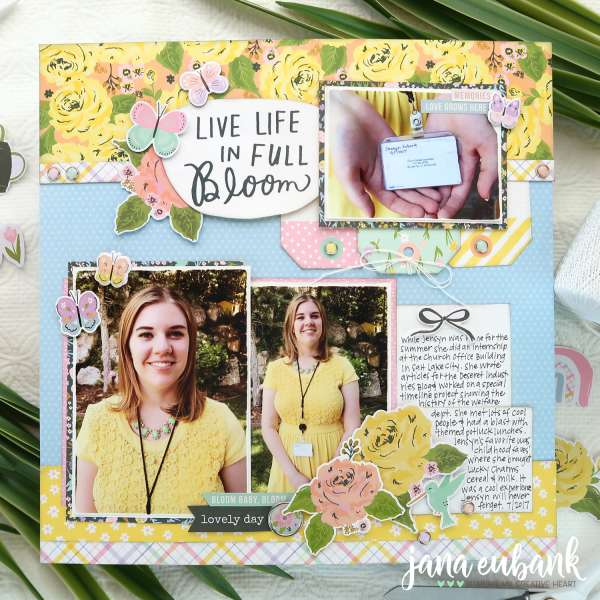 In Full Bloom Layout