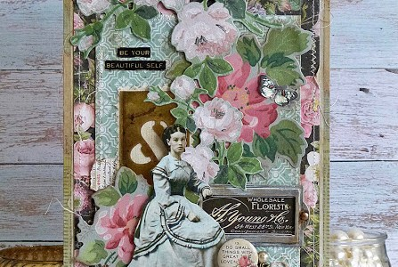 Vintage Mixed Media Tag