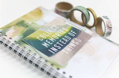 DIY Journal with Cinch Binding