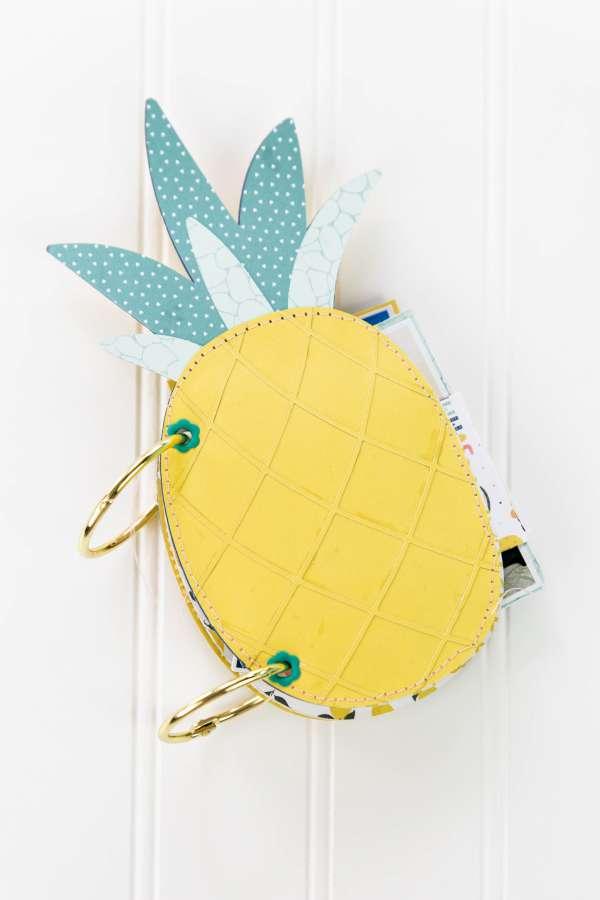 Pineapple Shaped Mini Album