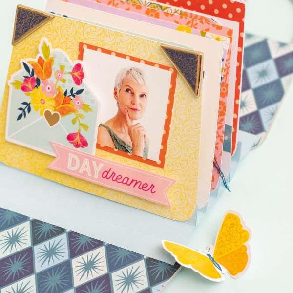 Make a Purse Shaped Scrapbook Album