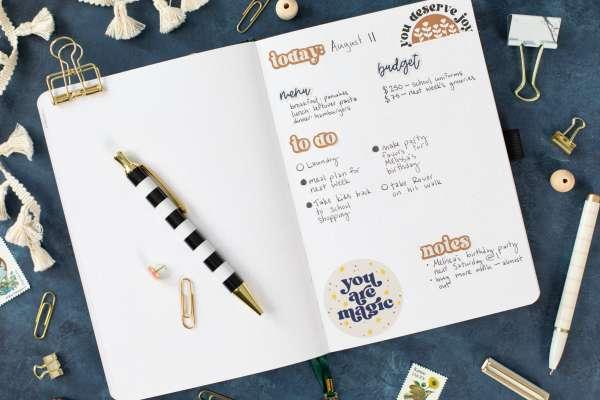 Create Custom DIY Planner Stickers