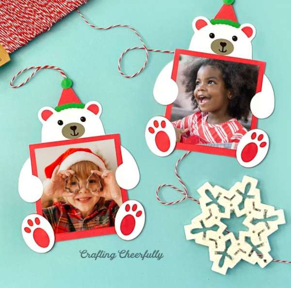 Holiday Photo Ornament Cards