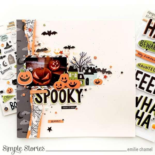 Halloween Pumpkin Layout