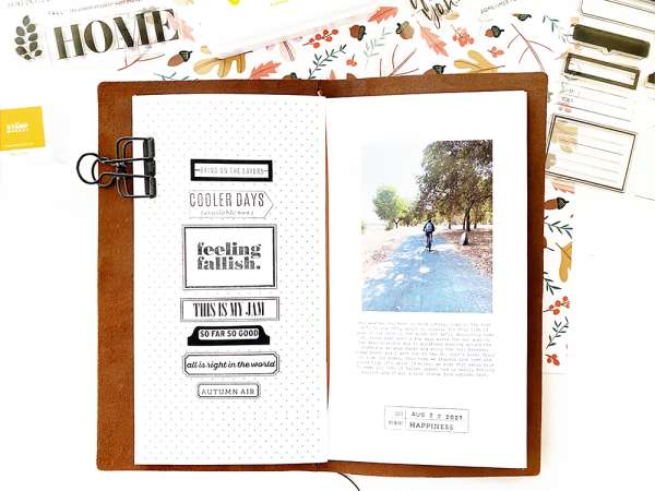 Stamped Sentiments TN Layout