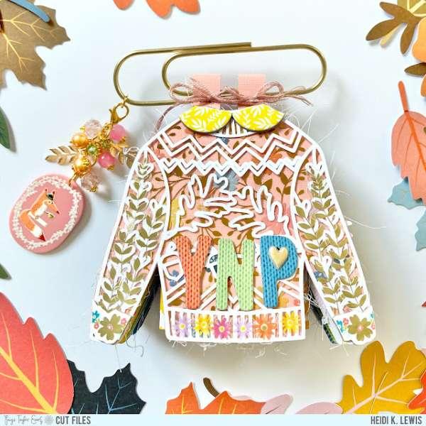 Sweater Shaped Mini Album