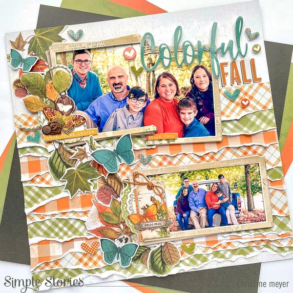 Torn Layers Fall Layout