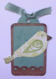Skylark bird tag 1