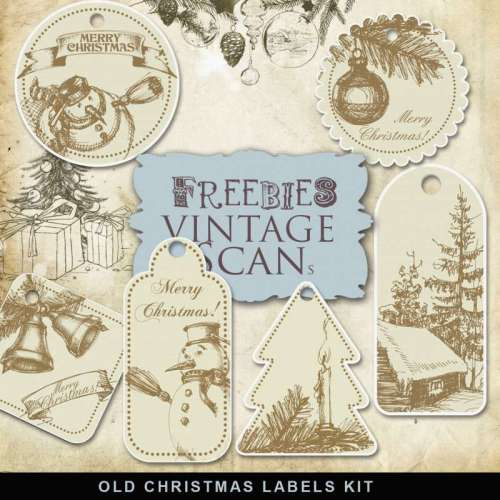 Freebies-Old-Naive-Christmas-Labels-500x500