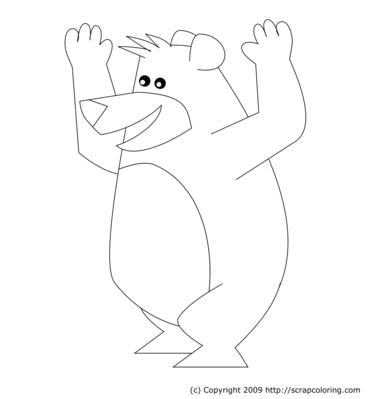 Juggling Clown coloring page