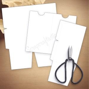 Folder Insert Template for A6 Size Traveler's Notebook