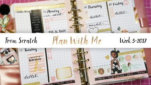 From Scratch DIY Planner Spreads