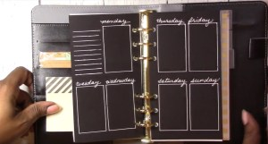WO2P Personal Size Planner Stencil – Blackout Planning
