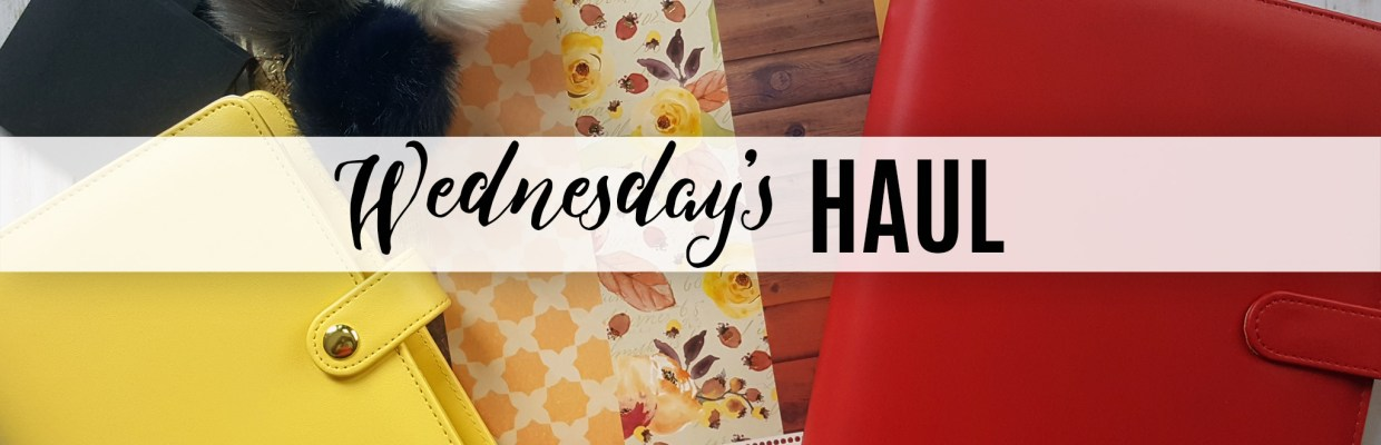 Wednesday's Haul 09.27.17 – A Collective Haul from Michael's, Mystics Little Gifts, Joann and more!