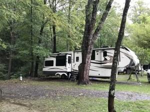 Campground at Catawba Falls